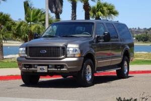 2002 Ford Excursion Limited 7.3L DIESEL POWERSTROKE 4X4 4WD LOADED