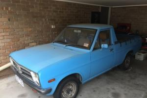 1986 DATSUN 1200 UTE 1 OWNER WITH ORIGINAL BOOKS Photo