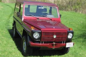 1989 Mercedes-Benz G-Class W460 Photo