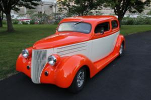 1936 Ford ford slantback 6 window coupe