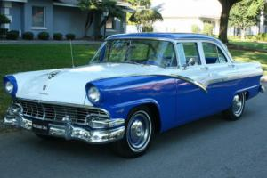 1956 Ford Fairlane TOWN SEDAN - FRESH RESTO - OVERDRIVE