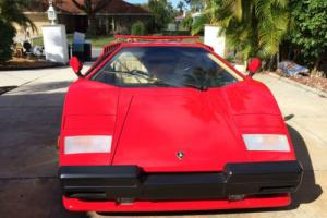 1989 Lamborghini Countach 2WD Photo