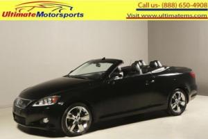 2012 Lexus IS 2012 IS 250C NAV LEATHER COONVERTIBLE RCAM