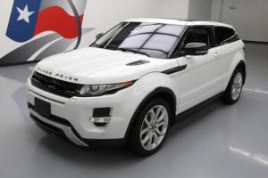 2012 Land Rover Evoque DYNAMIC AWD PANO SUNROOF NAV