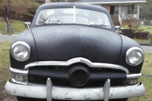 1950 Ford Custom Deluxe sedan four door