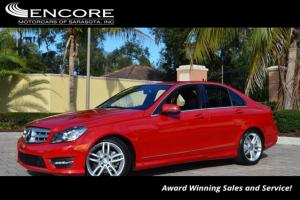 2013 Mercedes-Benz C-Class 4dr Sedan C250 Sport RWD W/Becker Map Pilot