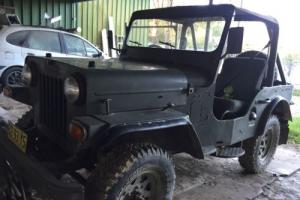 JEEP, WILLYS, MAHINDRA, STOCKMAN, ARMY, 4WD, CONVERTIBLE, DIESEL
