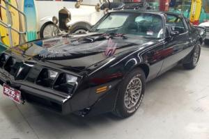 PONTIAC TRANS AM ORIGINAL 41 MILES STUNNING BLACK ON BLACK  T TOP