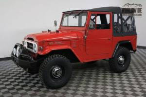 1972 Toyota Land Cruiser RARE OPTIONED 2F PS PB ARB WINCH Photo