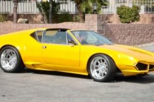 1973 De Tomaso Pantera Wide-body
