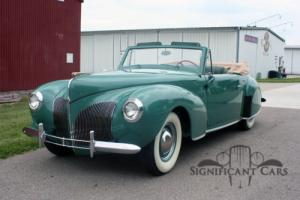 1940 Lincoln Continental Photo