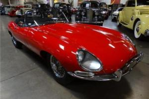 1964 Jaguar XK -- Photo