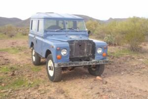 1970 Land Rover Defender 88""