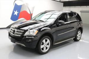 2011 Mercedes-Benz M-Class ML350ATIC AWD SUNROOF NAV