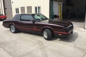 1987 Chevrolet Monte Carlo SS Photo