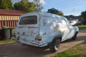 hd holden panelvan