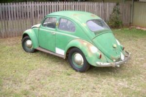 1958 VW Beetle Type 1 - German build