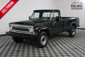 1974 Jeep J20 FRAME OFF RESTORED V8 4X4 RARE Photo
