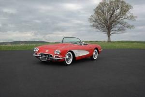 1958 Chevrolet Corvette FreshFrameOffRestoration#sMatch290hpFuelie