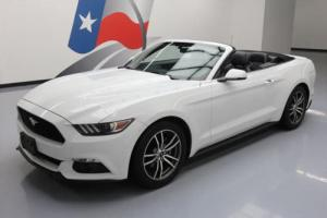 2017 Ford Mustang PREM CONVERTIBLE ECOBOOST LEATHER