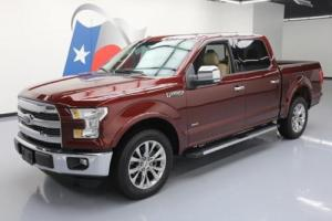2015 Ford F-150 LARIAT CREW ECOBOOST PANO NAV LEATHER