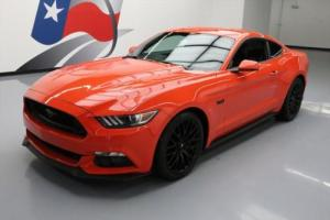2016 Ford Mustang 5.0 GT 6-SPEED VENT LEATHER NAV Photo
