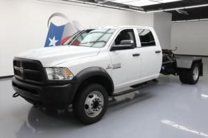 2014 Dodge Ram 4500 TRADESMAN 4X4 CHASSIS DIESEL DUALLY