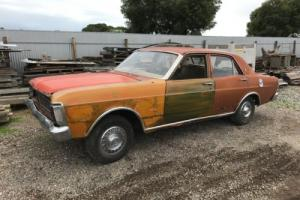 Ford XY Fairmont Sedan, V8, GT, GS, unfinished project, drag car, race car
