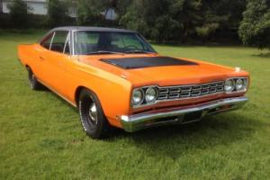 1968 Plymouth Road Runner Special order paint and interior