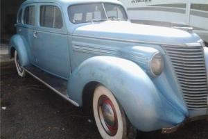 1938 Hupmobile 4 Door Sedan -- Photo