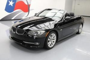 2011 BMW 3-Series 328I CONVERTIBLE TURBO HTD LEATHER NAV