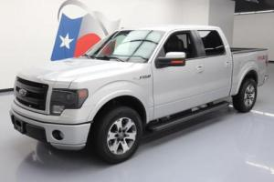 2013 Ford F-150 FX2 SPORT CREW 5.0L CLIMATE LEATHER