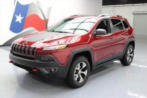2017 Jeep Cherokee TRAILHAWK 4X4 REAR CAM ALLOYS