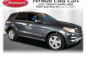 2013 Mercedes-Benz M-Class 4MATIC 4DR ML350 BLUETEC
