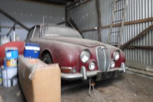 Jaguar 3.8 S Type Genuine Barn Find