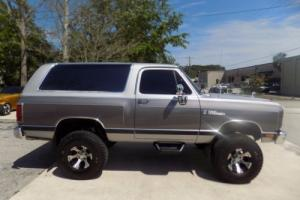 1989 Dodge Ramcharger Ram Charger