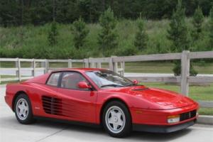 1987 Ferrari Testarossa -- Photo