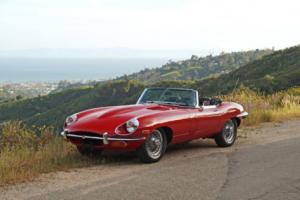 1969 Jaguar E-Type XKE Roadster - One Owner, 40k Miles
