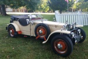 1934 Replica/Kit Makes Frazier Nash Tribute