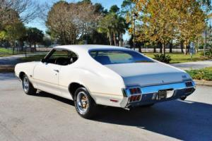 1972 Oldsmobile 442 Numbers Matching Window Sticker Buckets Console