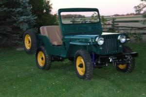 1950 Willys CJ3A Photo