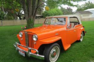 1948 Willys jeepster Photo