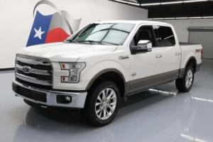 2015 Ford F-150 KING RANCH 4X4 FX4 5.0 PANO ROOF NAV