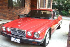 Jaguar 4.2 Sovereign XJ6 Series 3 Red Connolley leather Project