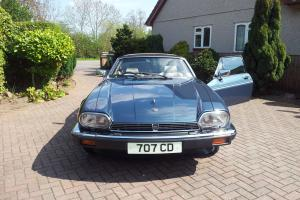 1985 JAGUAR XJSC HE AUTO BLUE only 14000 miles  Photo