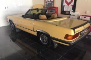 1973 Mercedes convertable 450SL