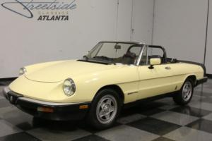1984 Alfa Romeo Spider Photo