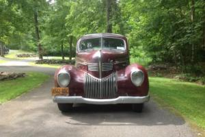 1939 Chrysler Royal Photo