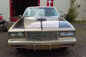 1986 Chevrolet Monte Carlo Photo