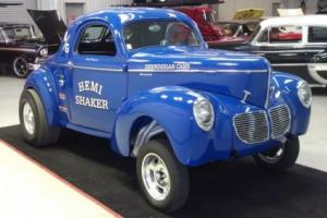 1940 Willys Coupe GASSER Photo